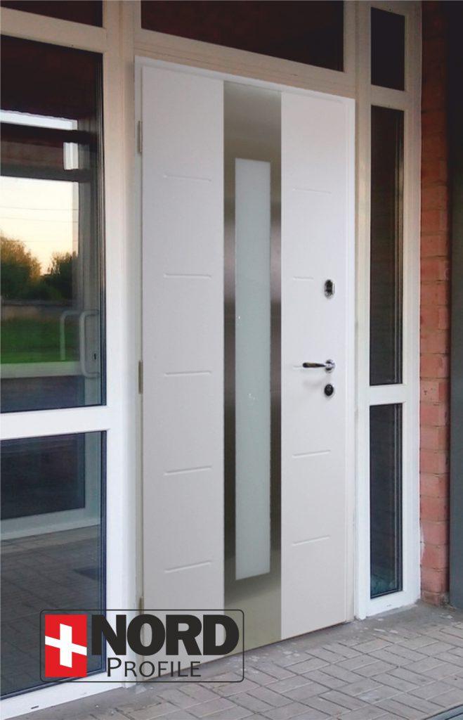 Двери алюминиевые НОРД Алютерм